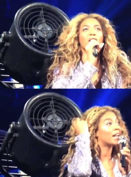 Beyonce Hair In Fan