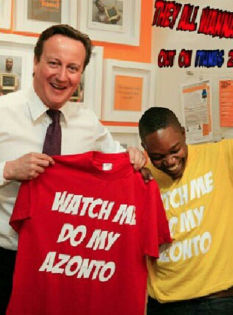 Fuse ODG's manager with David Cameron