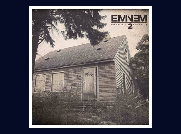 Eminem MMLP2 artwork on Instagram