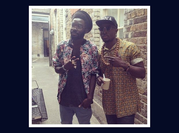 Fuse ODG wearing printed shirt