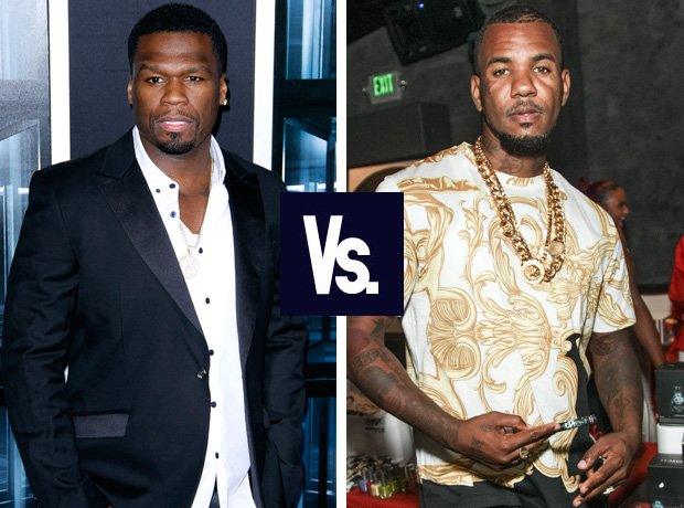 50 CEnt and The Game feud