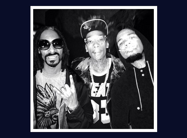 Snoop Dogg and Wiz Khalifa with The Game