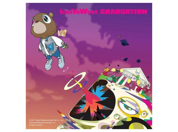 Kanye West, 'Graduation' album cover artwork