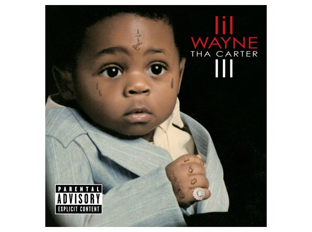 Lil' Wayne, 'Tha Carter III' album cover artwork