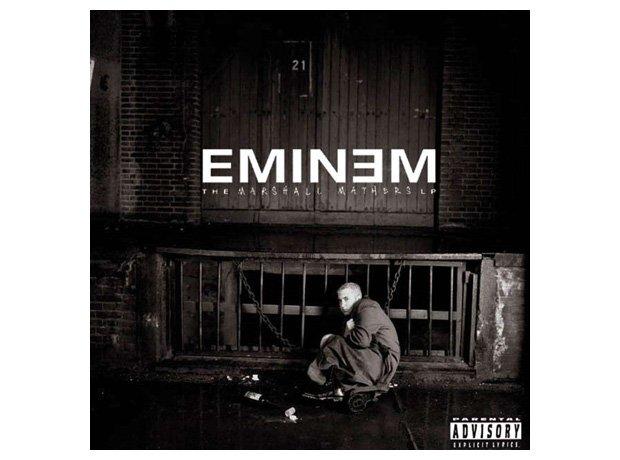Eminem, 'The Marshall Mathers LP' album cover artwork