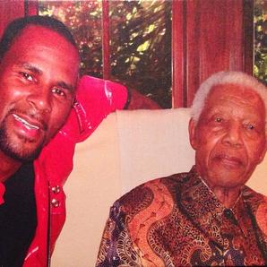 R Kelly Nelson Mandela