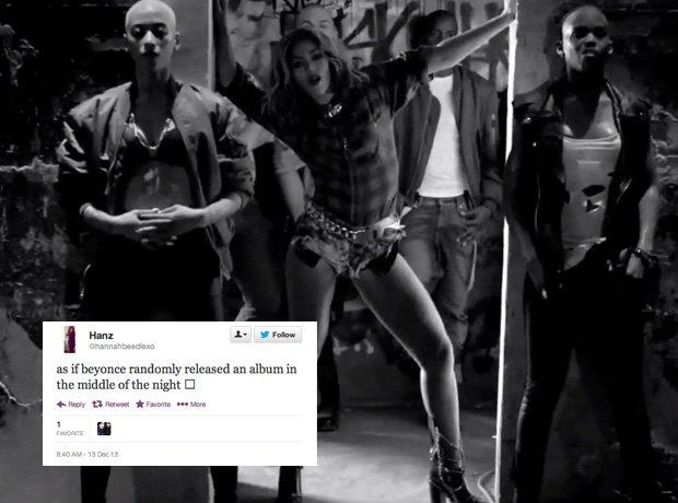 Beyonce new album Twitter reaction
