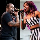 Azealia Banks and Busta Rhymes