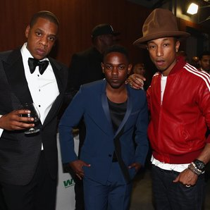 Jay Z, Kendrick Lamar and Pharrell Williams