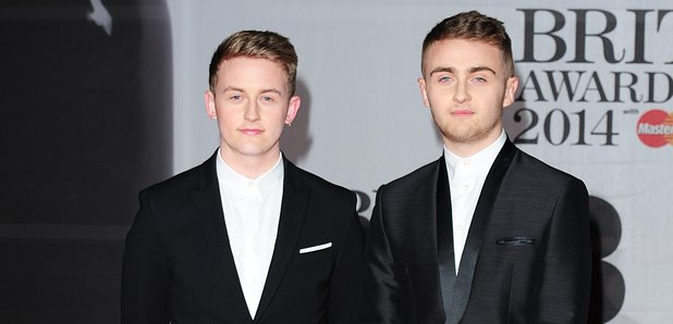 Disclosure BRIT Awards 2014 Red Carpet