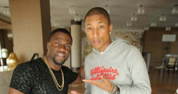 Kevin Hart and Pharrell