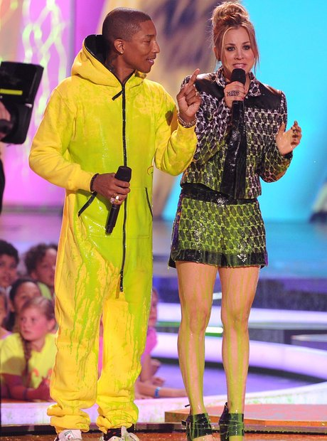 Pharrell slimed