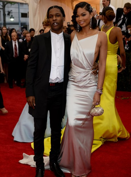 ASAP Rocky and Chanel Iman Met Gala 2014