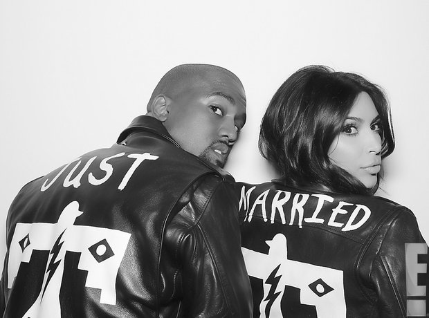 Kim Kardashian and Kanye West Wedding 2014
