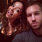 Calvin Harris Tinashe Instagram