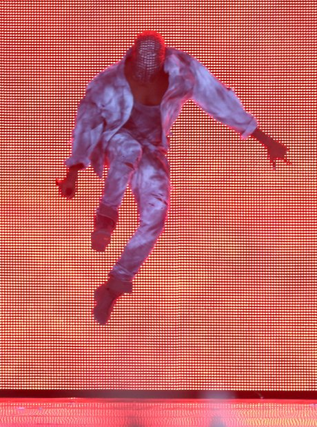 Kanye West at Wireless Festival 2014