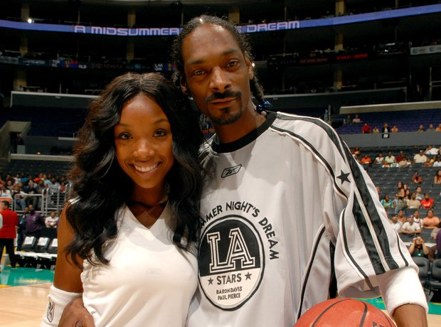 Brandy and Snoop Dogg