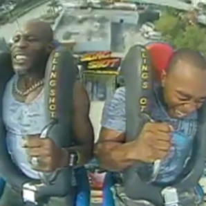 DMX sling shot ride
