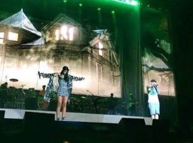 Eminem And Rihanna At Lollapalooza festival