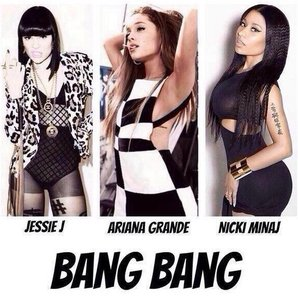 Jessie J Ariana Grande And Nicki Minaj Instagram