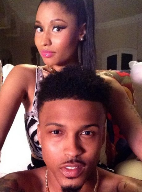Nicki Minaj and August Alsina