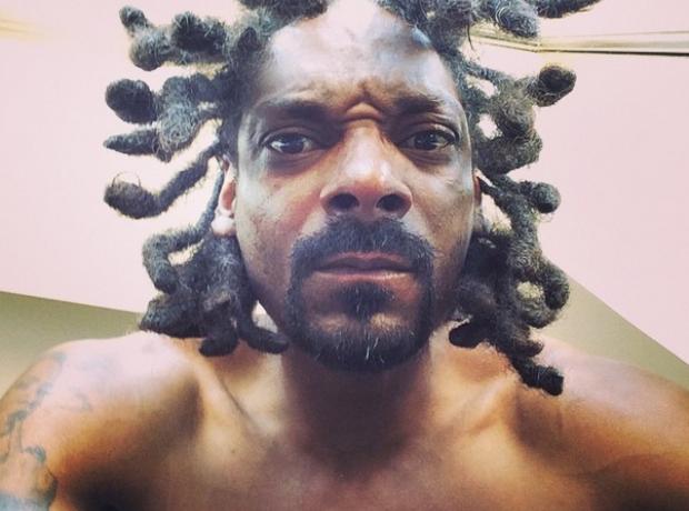 Snoop Dogg selfie