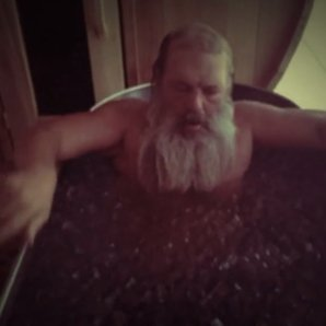 Rick Rubin doing the ice bucket challenge