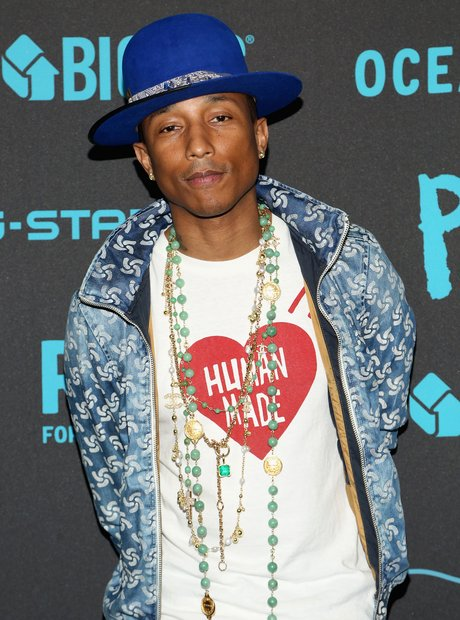 Pharrell New York Fashion Week 2015