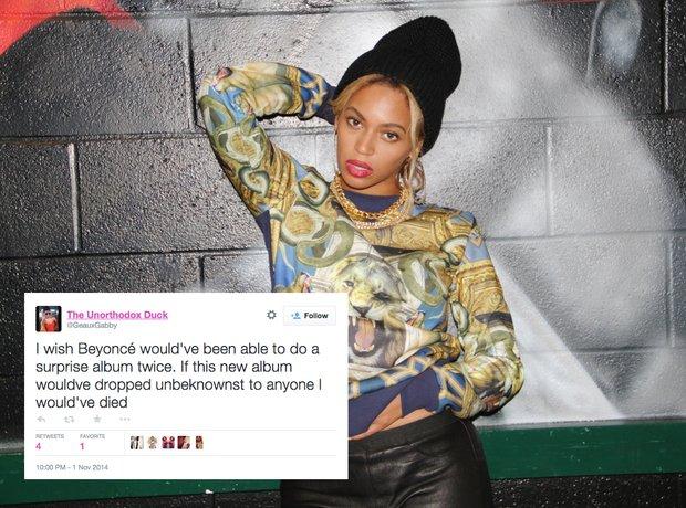 Beyoncé Fans Can't Handle This