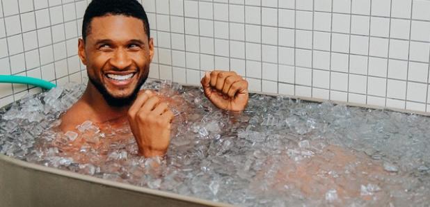 Usher in Ice bath