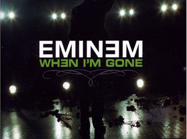 Eminem - 'When I'm Gone' artwork