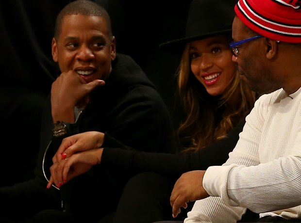 Beyoncé Jay Z basketball game