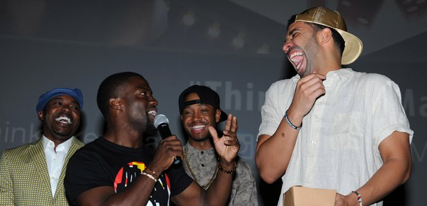 Kevin Hart Drake Laughing