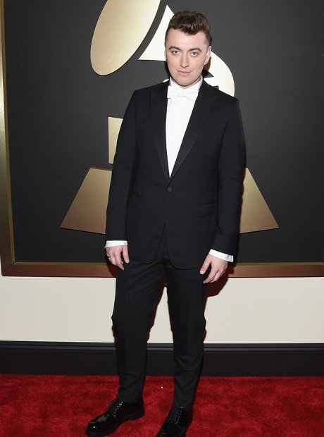 Sam Smith at the Grammy Awards 2015