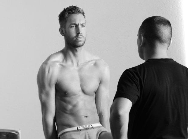 Calvin Harris Emporio Armani Underwear Campaing 20