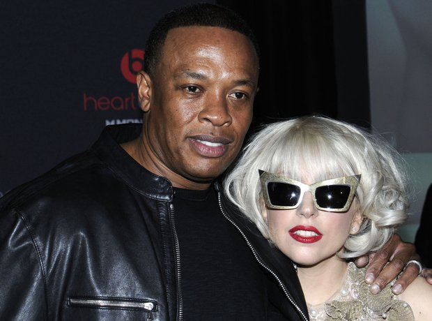 Dr. Dre and Lady Gaga
