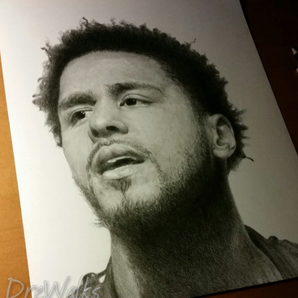 J Cole art DreWalks