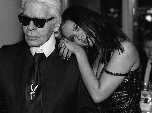 Rihanna Karl Lagerfeld