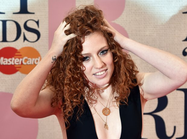 Jess Glynne at the Brit Awards 2015