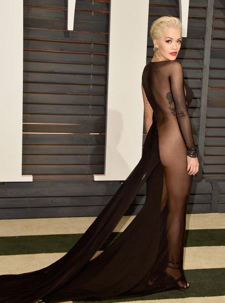 Rita Ora Vanity Fair Oscars Party 2015
