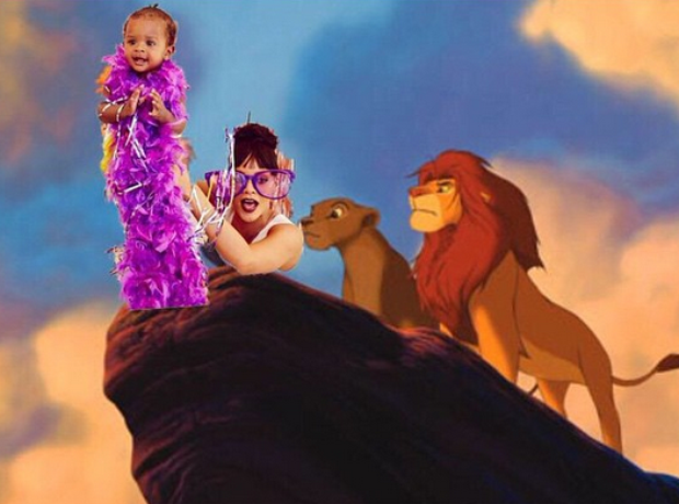 Rihanna Lion King Meme