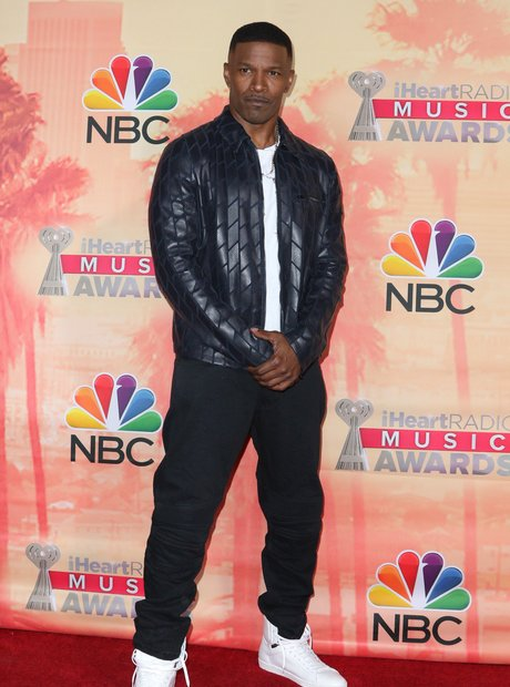 Jamie Foxx iHeartRadio Awards Red Carpet 2015 8