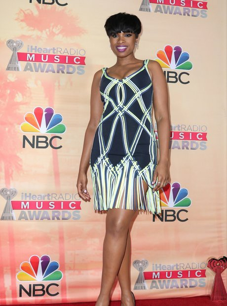 Jennifer Hudson iHeartRadio Awards Red Carpet 2015