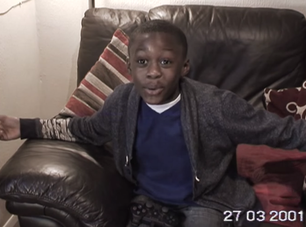Stormzy 8 years old