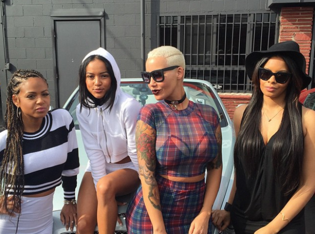 AMber Rose Christina Milian and karrueche tran Coa