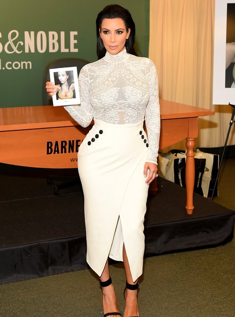 Kim Kardashian Selfish Book Signing