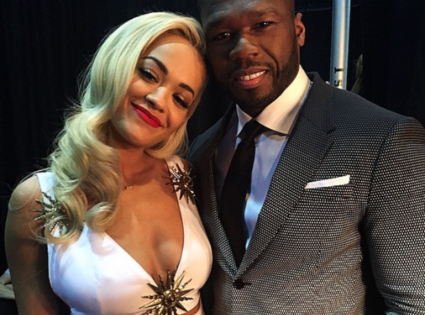 50 Cent Rita Ora Billboard Music Awards 2015