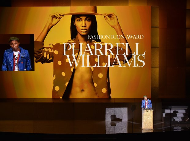 Pharrell Williams 2015 CFDA Fashion Awards