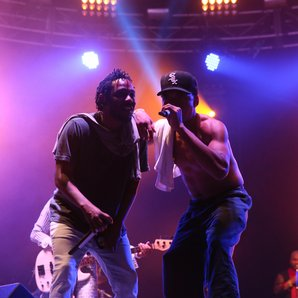 Kendrick Lamar and Chance the Rapper perform at Bo