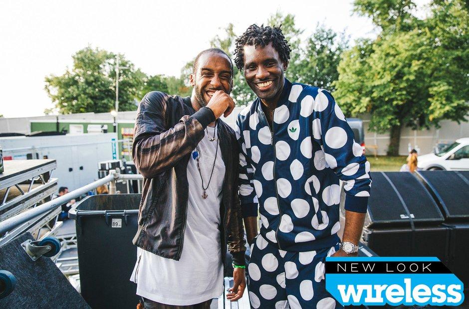 Wretch 32 and Shakka Wireless Festival 2015